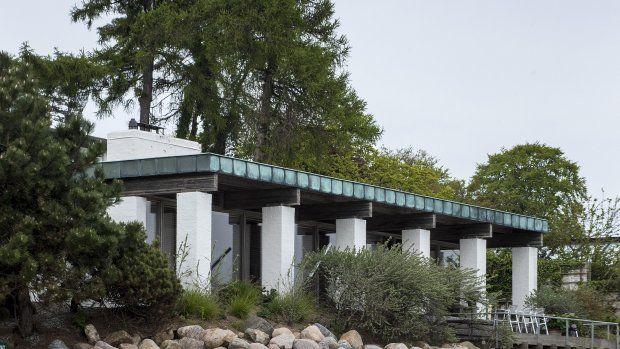 Thomas Kjærholm bor i sin far Poul Kjærholms berømte hus. Foto: Søren Bidstrup