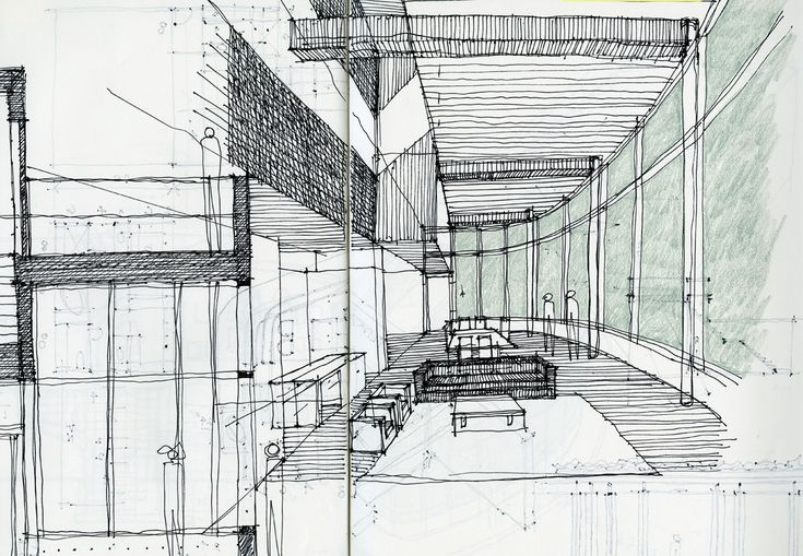 sketches by architects - Google Search