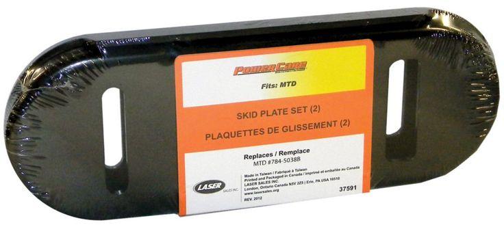 Skid Plates - fits MTD snowblowers