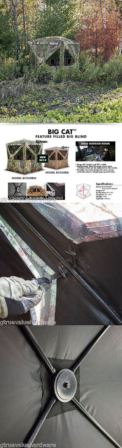 Blind and Tree Stand Accessories 177912: New Barronett Big Cat 350 Bc350bw Ground Blind Archery Deer Turkey Hunting Pig -> BUY IT NOW ONLY: $169.95 on eBay!