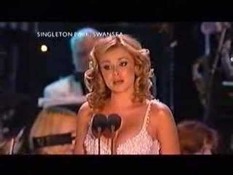 Katherine Jenkins- Music of the night.     Love it when women sing this song and she doesn't do it half bad either.