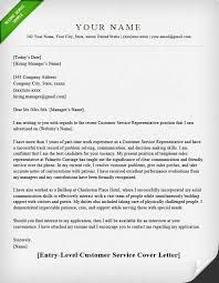 Image result for customer service cover letter examples