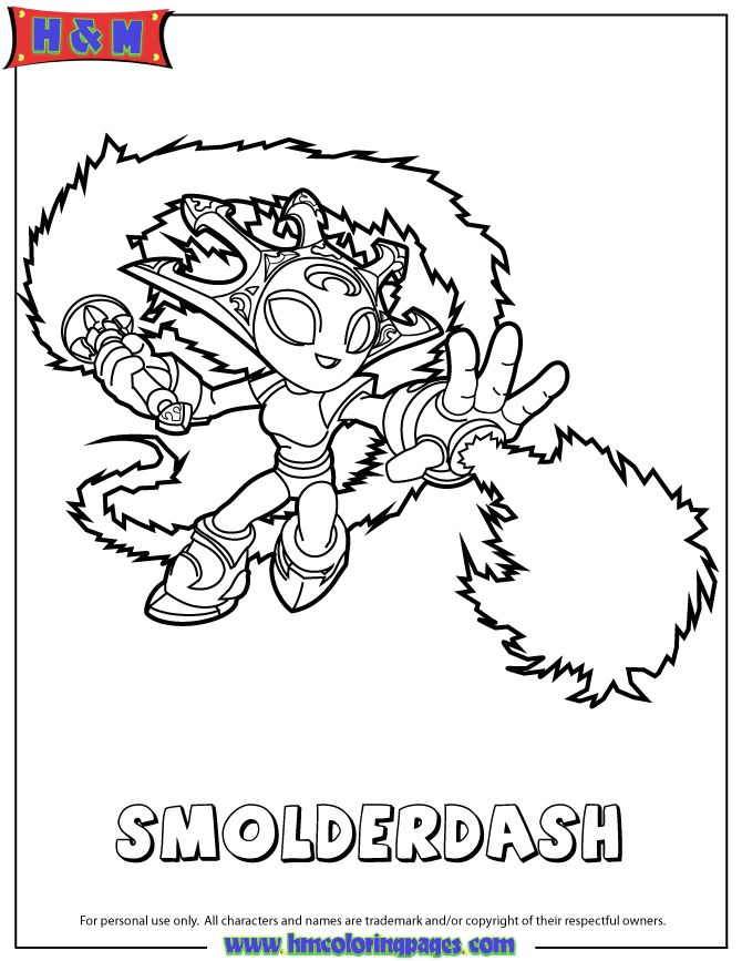 flameslinger coloring pages - photo#32