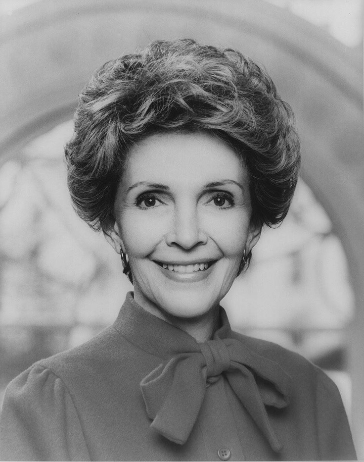 Nancy Reagan | Female Role Models | Pinterest
