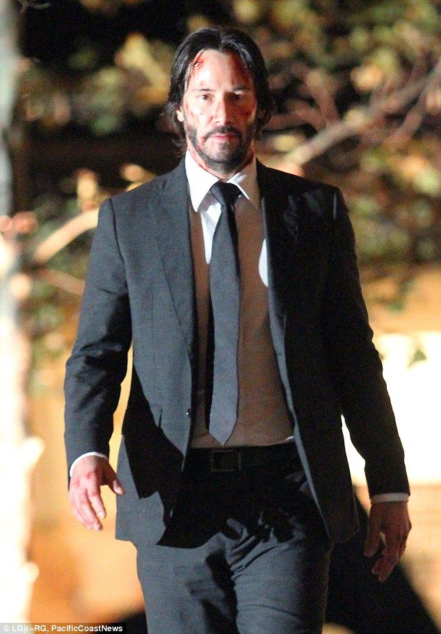 2015 November 20th  Keanu Reeves filming John Wicks 2. Sequel to the 2014 hit - which grossed $130.9 million worldwide - is due for release sometime in 2016.