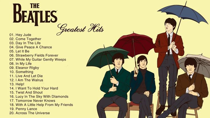 The Beatles Greatest Hits - Best Songs Of The Beatles - The Beatles Play...