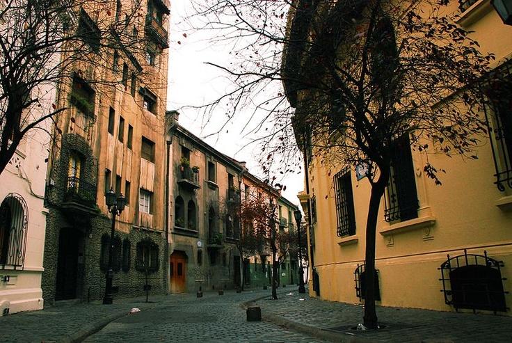 Barrio Paris-Londres, Santiago de Chile