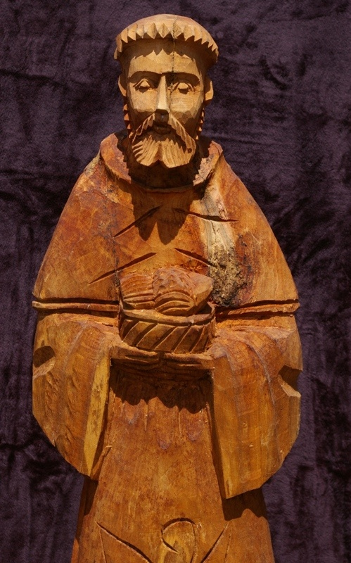 Hand Carved Saint Francis