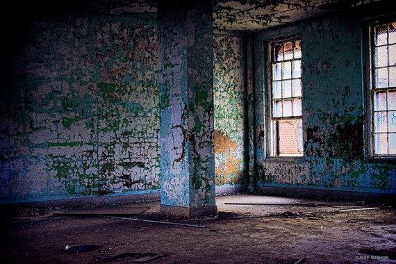 Abandoned TB Ward by Jeff Bishop aka PorcelainPro on Etsy, $35.00