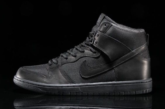 Nike SB Dunk High Bota Triple Black