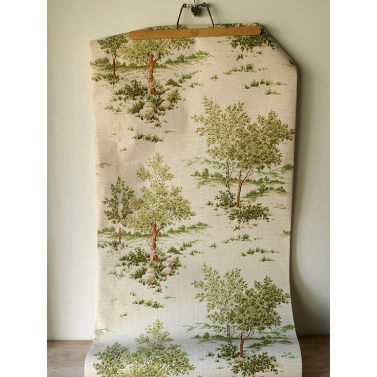 Vintage Wallpaper - Trees