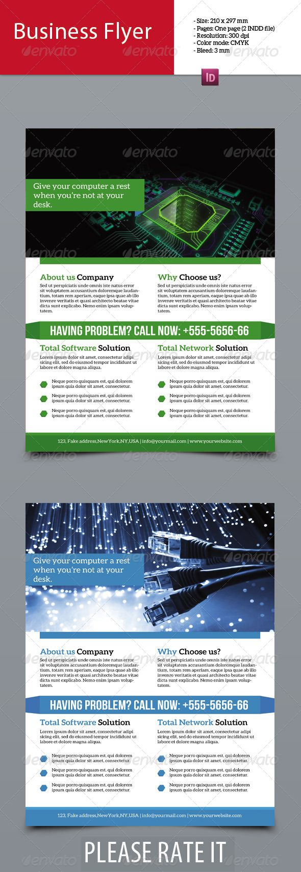 Best Software Flyers Images On   Brochures Flyers