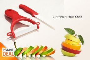 Grab it Fast! 2 in 1 Ceramic Knives with Best Quality Material. Only Rp 39.000,-