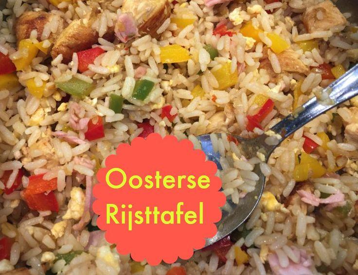 Recept Oosterse Rijsttafel: Zo maak je zelf een lekkere Chinese Rijsttafel klaar met nasi, gebakken banaan, kip en meer.
