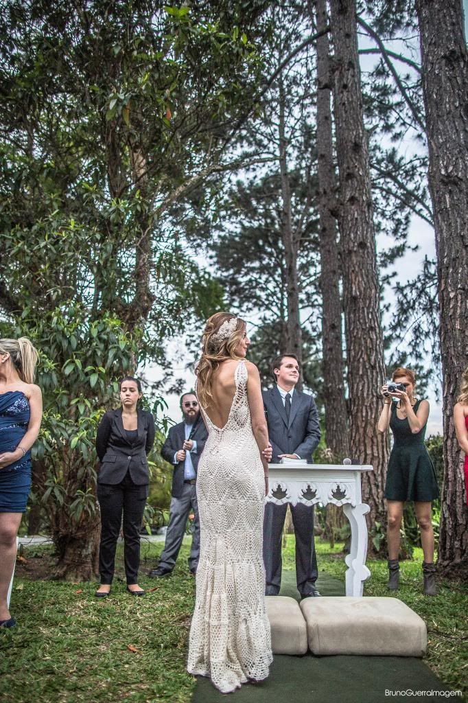 Vestido de noiva de crochet ♥ | Alexandra Spallicci                                                                                                                                                                                 Mais