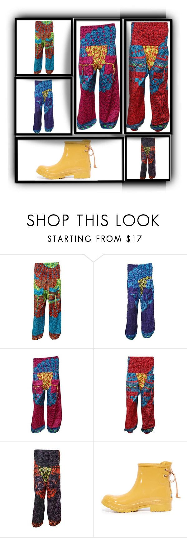 """Mandala Pants"" by boho-chic-2 ❤ liked on Polyvore featuring Sperry, pants, sale, yogapants, offer and mandalapanta"
