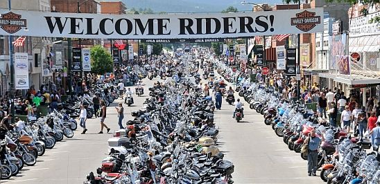 Sturgis Rally - Main Street Went on August 4th, 2013 August 3rd - 6th, 2013