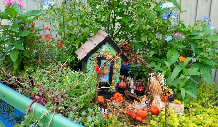 Pictures of Fairy Gardens   Secret Fairy Garden in an Upcycled Wheelbarrow « The Seasonal Home