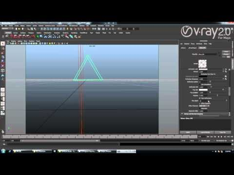 V-Ray 2.0 for Maya Dispersion with V-Ray Material - YouTube