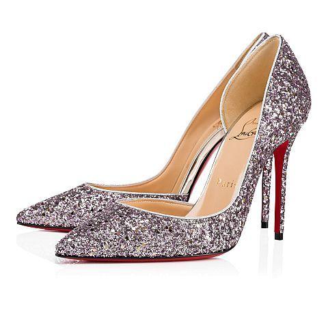 Iriza glitter 100 RONSARD/LIGHT GOLD Glitter - Women Shoes - Christian Louboutin