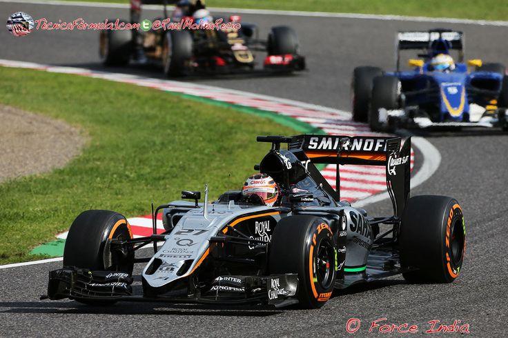 Force India considera que su ritmo de carrera está entre los mejores de la parrilla #Formula1 #F1 #RussianGP