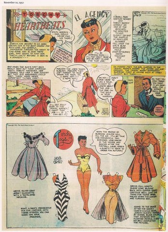 Comic strips by african american