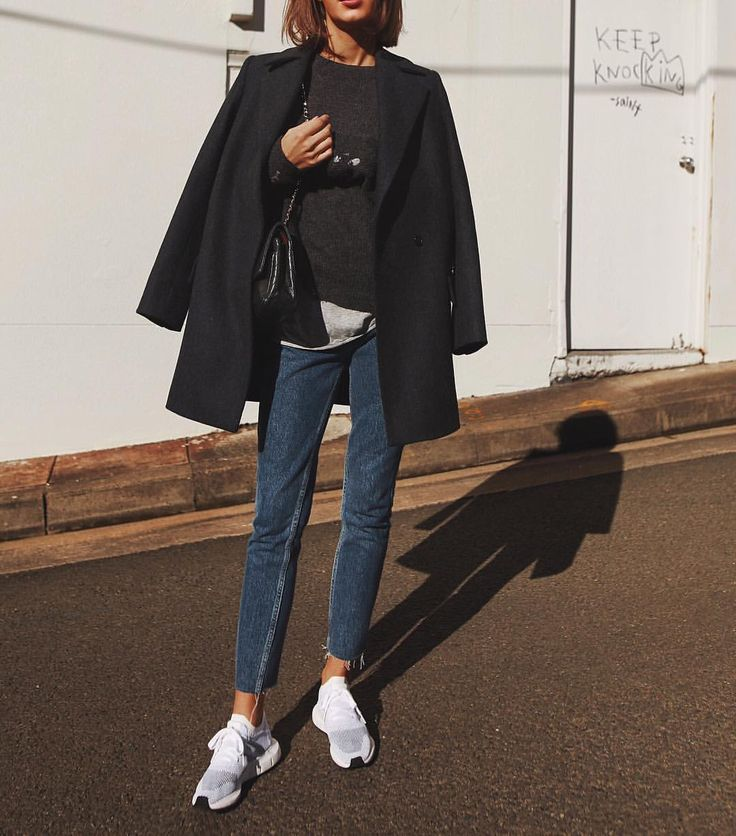 """18.7k Likes, 106 Comments - Petra (@pepamack) on Instagram: """"Wearing shoes by @adidasau, jeans by @guess, coat by @jacandjack  #ootd #vintage #adidas #guess"""""""