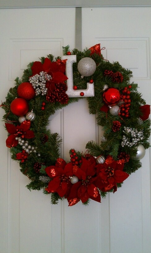 My Christmas wreath 2011 :) Im just that good!