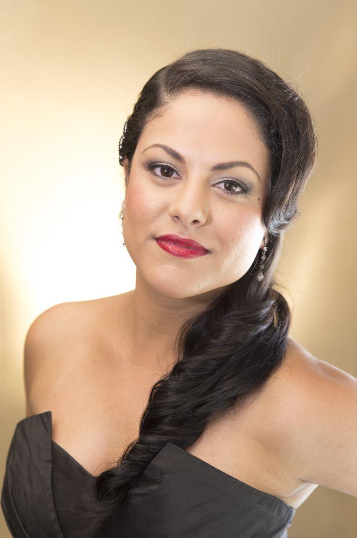 Hollywood look by Total Brides hair & makeup