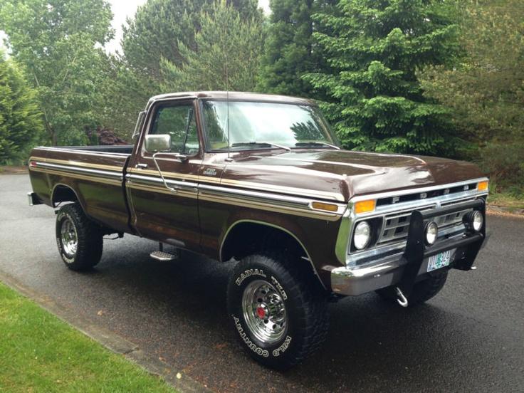 1977 f250 highboy ford trucks pinterest