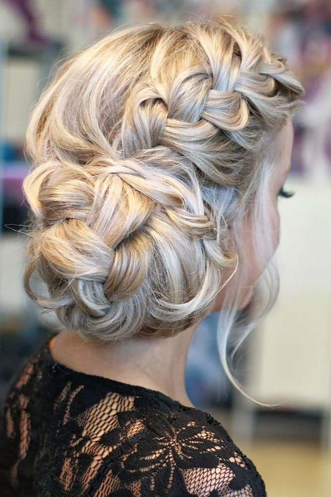 Phenomenal 1000 Ideas About Wedding Hairstyles On Pinterest Braid Bangs Short Hairstyles Gunalazisus