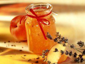 Peach - Lavender - Vanille - Jam  Pfirsichmarmelade mit Lavendel und Vanille