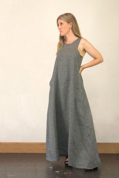 Celestial Maxi sleevelessDress, pattern hack, free, sewing pattern, pattern fantastique.