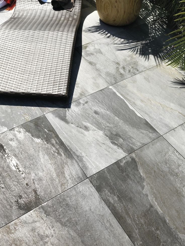 Bis 60x60 grey, by the pool