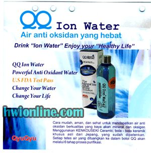 FRUTABLEND: QQ ION WATER