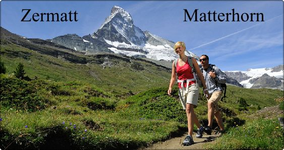 Visit to the village of Zermatt and the Matterhorn in Schwitzerland