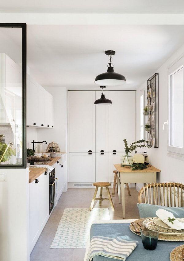 Cuanto Cuesta Reformar Una Cocina Consejos Y Presupuesto Cocinas Abiertas Al Comedor Muebles Blancos Cocinas Abiertas