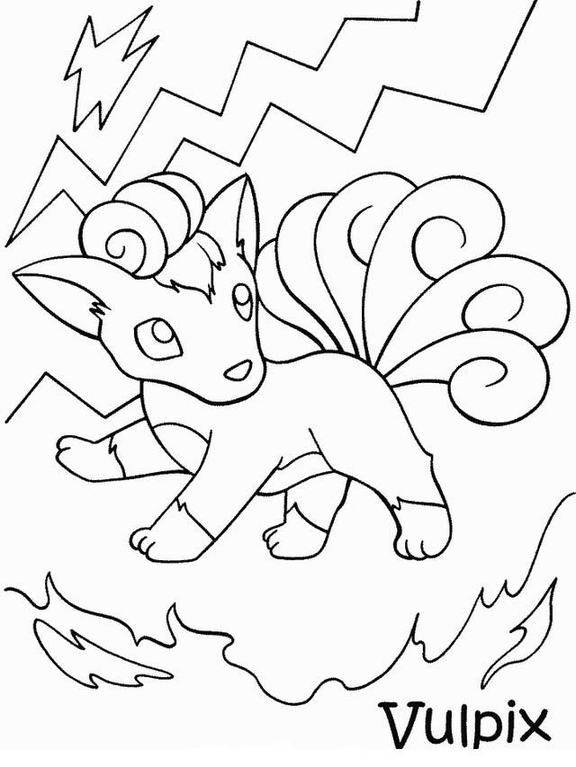pokemon ex coloring pages blanches - photo#45