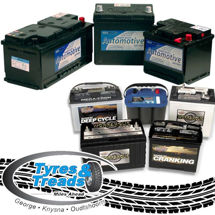 Tyres and Treads stock batteries for all kinds of vehicles, contact us for further information about these products. #tyresuppliers #batteries