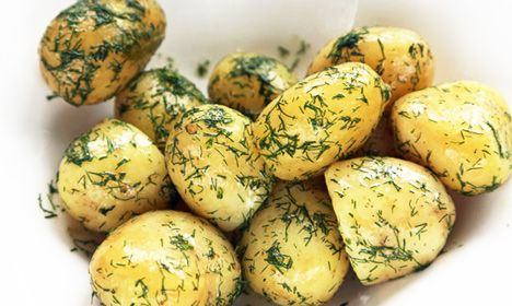 Swedish potatoes with Dill. This classic side dish has been popular for centuries. It's a perfect accompaniment to meat or fish and is easily made at home. Food writer John Duxboury shares his recipe with The Local.