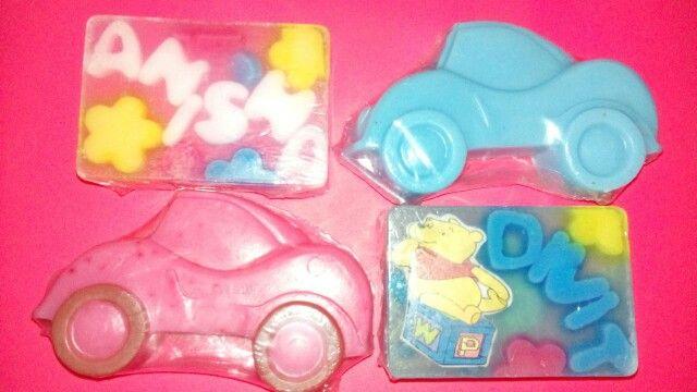 Designer soaps for kids-gr8 idea for return gifts