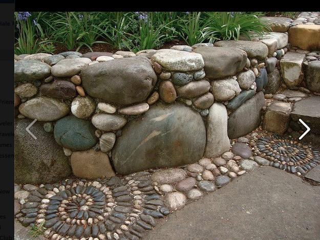Rock wall ideas