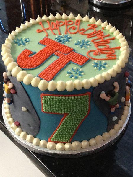 Rock Climbing Cake Eatcakes Photos Cakepins Com Holiday