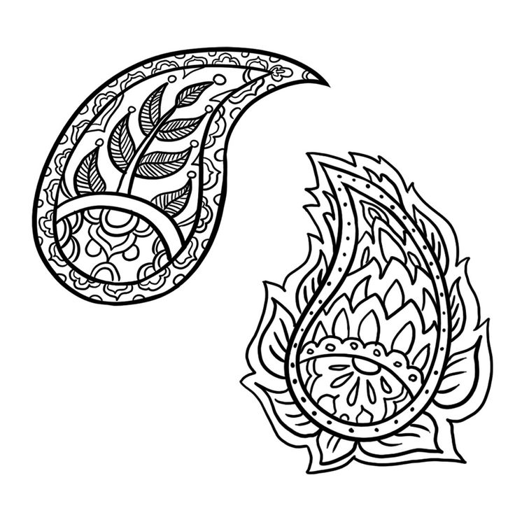Drawing Ideas For Beginners: How To Draw A Paisley Design: 6 Steps - WikiHow
