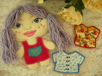 #Annie #BestFriends #Paperdoll Get this design set for only $2.00! http://www.threadsnscissors.com/projects/631-ts769-annie-best-friends-paperdoll-1 #embroidery #special #discount