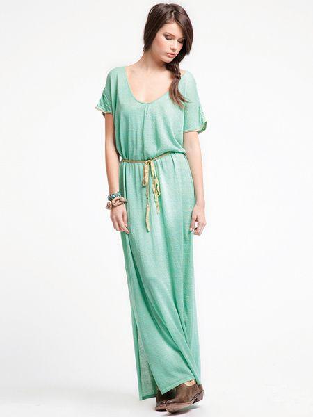 Платье O De Mai большой длины средней длины 2013