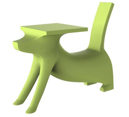 To make it short... Le Chien Savant is a safe, comfortable and really cool doggie desk!  Woof Hoo!