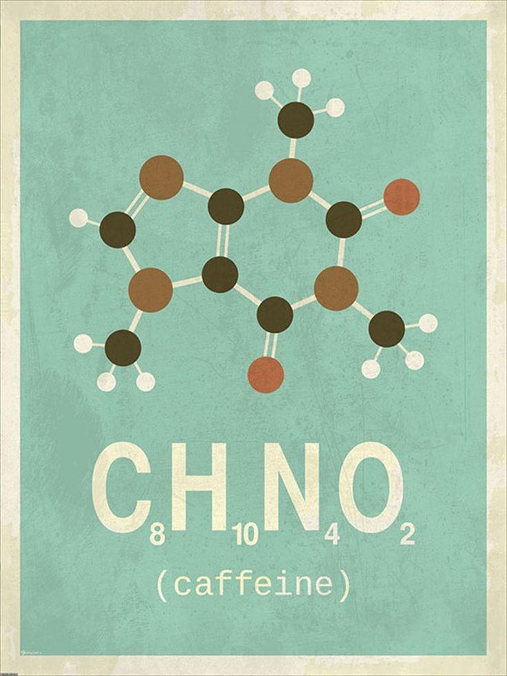 Molekyle Koffein A5