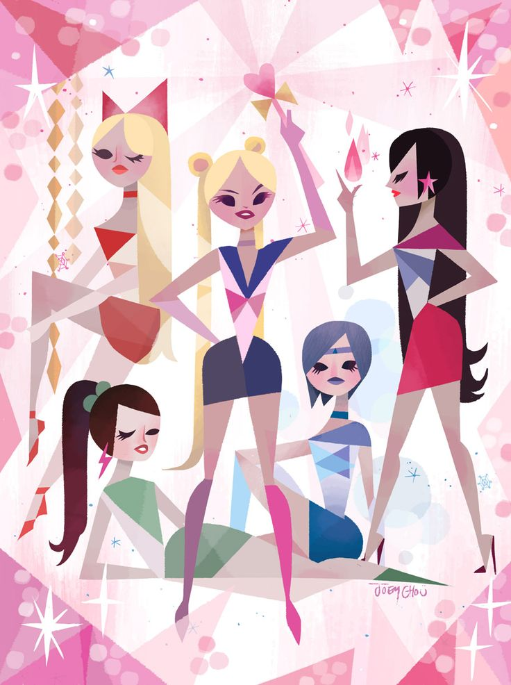 Sailor Moon (2014) My Piece for the sailor moon show tomorrow at qpophttps://www.facebook.com/events/658896564156271/ In honor of the 20th anniversary of Sailor Moon, Q Pop will be hosting a group show celebrating the powerful sailor senshi! Join us for a night of art and girl power nostalgia. Hang out and watch sailor moon projected outside, where they'll be fighting evil by moonlight. Costumes are highly encouraged! Dress up as your favorite character, either in full cosplay or fashion…