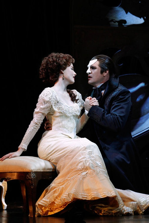 DARN IT WHY MUST THE COSTUMES BE SO FREAKING PRETTY? Love Never Dies......Australian production
